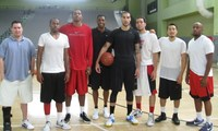 IBL All Star selects Defenders workout w Coach Lewis.JPG